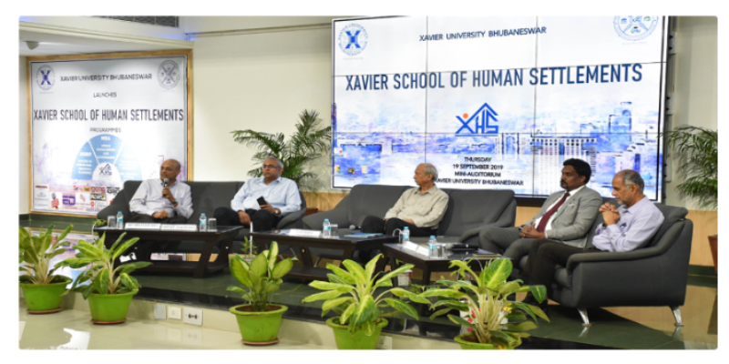 "School of Human Settlements Launch News published in ""Mycitylink"""