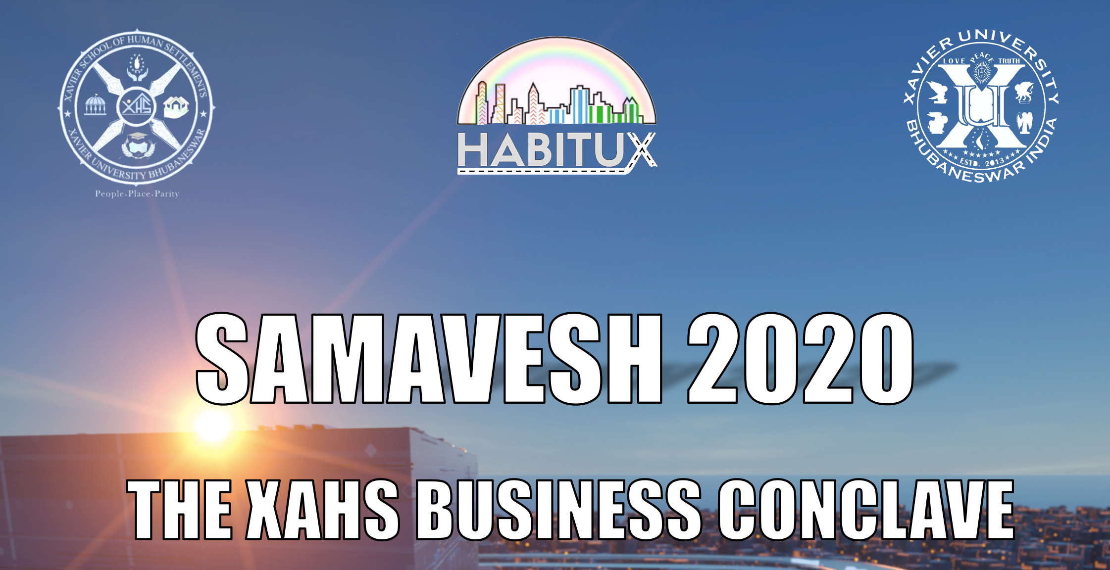 SAMAVESH 10 – 12th Sep, 2020 -The School of Human Settlements Business Conclave